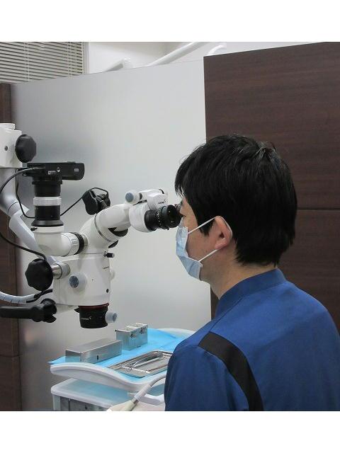 精密治療を主体とする歯科医院